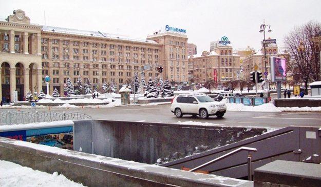 В подземном переходе на Майдане Незалежности установят лифты