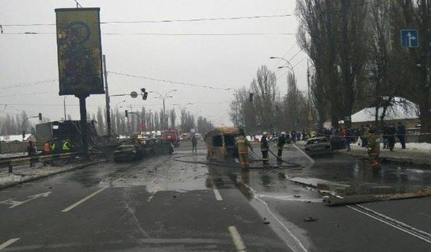 В полиции рассказали детали аварии на Заболотного