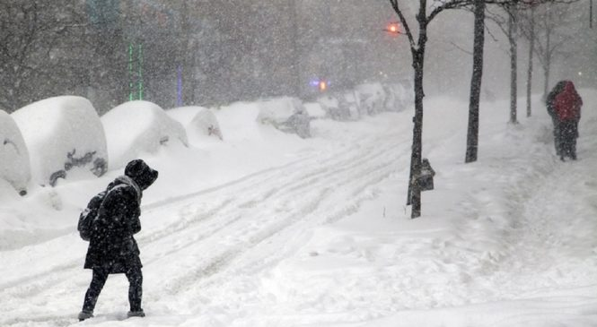 Метель, гололедицу и налипание снега синоптики ждут в Киеве уже на этой неделе