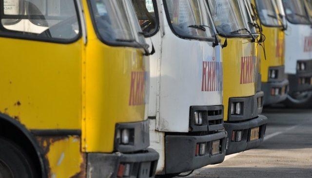 В Киеве начались тотальные проверки «маршруточников»